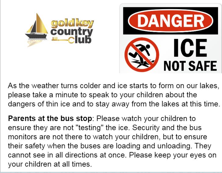 Thin Ice Warning